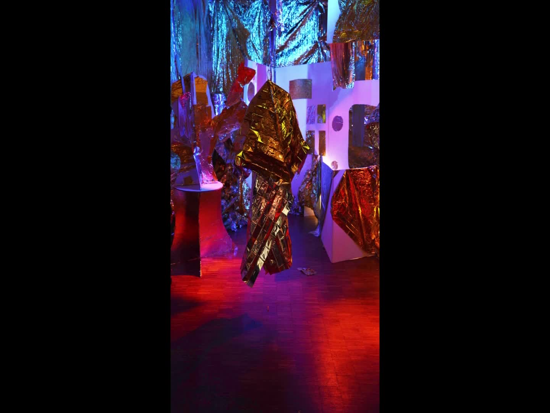Lichtspektakel: Slideshow Atelier Goldräume