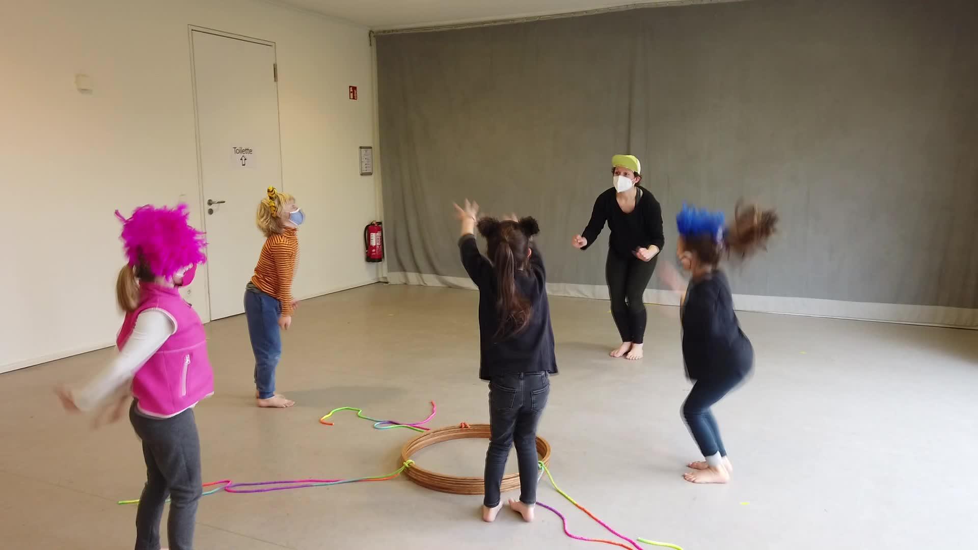 Bewegung - Einblicke in den Workshop
